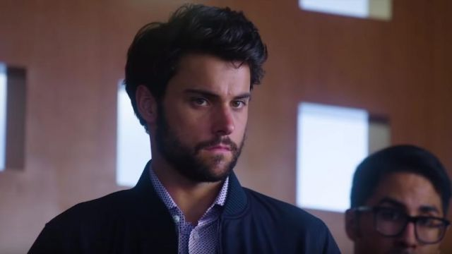 Shirt with polka dots of Connor Walsh (Jack Falahee) seen in Murder Season 5 Episode 1 - TV Show Outfits and Products