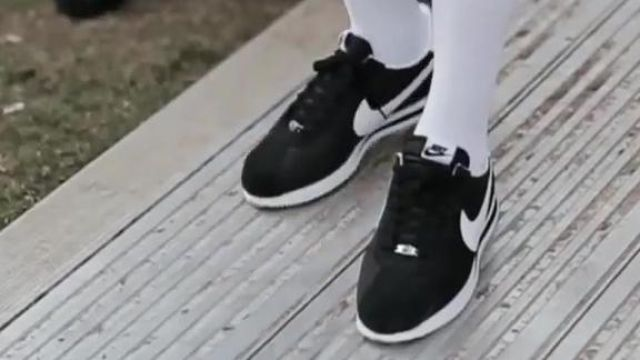 Shoes Nike Cortez black in the clip All In A Day Berner ft Young Thug, YG x Vital - Youtube Outfits and Products