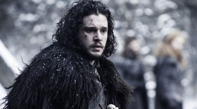 Fashion Trends 2021: Skin of a beast of the night-watch of Jon Snow (Kit Harington) seen in Game of Thrones Season 1 Episode 3