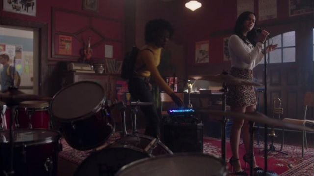 Skirt from Zara outfit worn by Veronica Lodge (Camila Mendes) seen in Riverdale Season 2E11 - TV Show Outfits and Products
