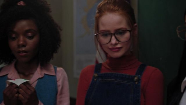 Small sweater turtleneck brown Forever 21 outfit worn by Cheryl Blossom (Madelaine Petsch) seen in Riverdale Season 3 Episode 4 - TV Show Outfits and Products