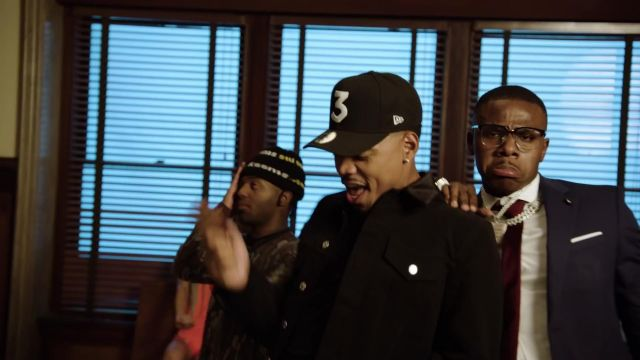 Snapback cap 3 reach by Chance The Rapper in Chance the Rapper ft. MadeinTYO & DaBaby - Hot Shower (Official Video) - Youtube Outfits and Products