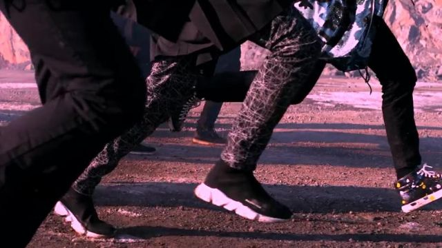 Sneakers Balenciaga Trainer Speed in the clip Not Today BTS - Youtube Outfits and Products