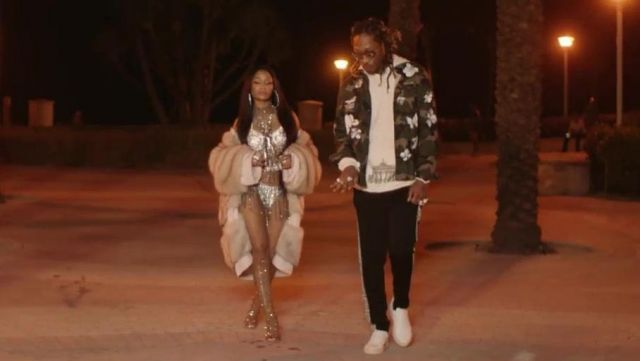 Sneakers Givenchy Leather in the clip You Da Baddest in the Future - Youtube Outfits and Products