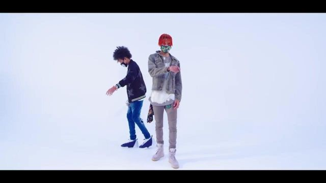 Sneakers Nike Air Force 1 SF of Ayo & Teo in their clip Rolex - Youtube Outfits and Products