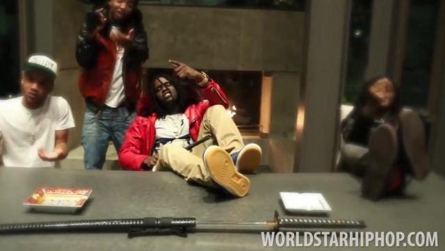 Sneakers Nike Air Force 1 in the clip Mailbox Chief Keef - Youtube Outfits and Products