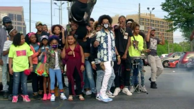 Sneakers Nike Air Jordan 11 in the clip, the Rolex Ayo & Teo - Youtube Outfits and Products