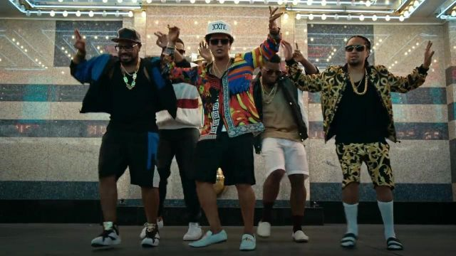 Sneakers Nike Air Jordan 7 retro of a contained in the clip 24k Magic of Bruno Mars - Youtube Outfits and Products