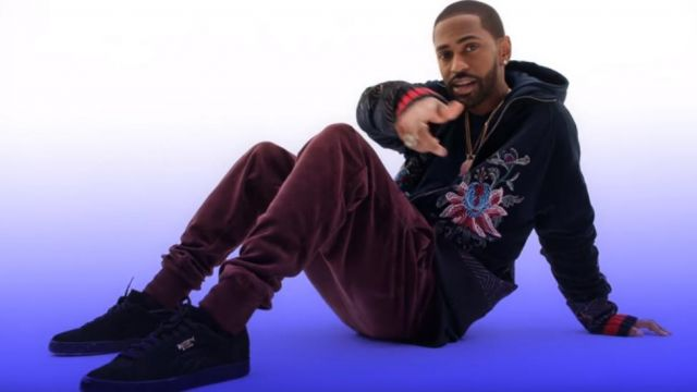 Sneakers Puma suede in the clip Moves from Big Sean - Youtube Outfits and Products