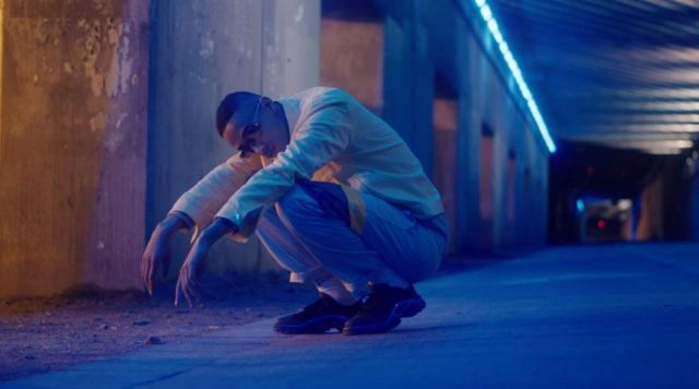 Sneakers Raf Simons for Slimka in the clip George the Dew