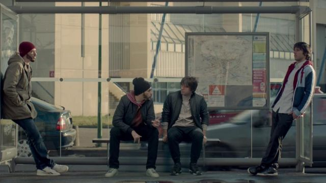 Sneakers Reebok C 85 Orelsan in the clip has the time, or I layer Crackers flowters - Youtube Outfits and Products
