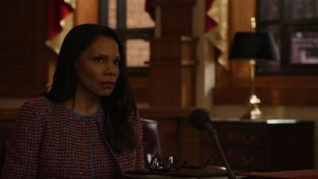 St. John Tweed Jacket outfit worn by Liz Reddick-Lawrence (Audra McDonald) in The Good Fight (S03E10) - TV Show Outfits and Products
