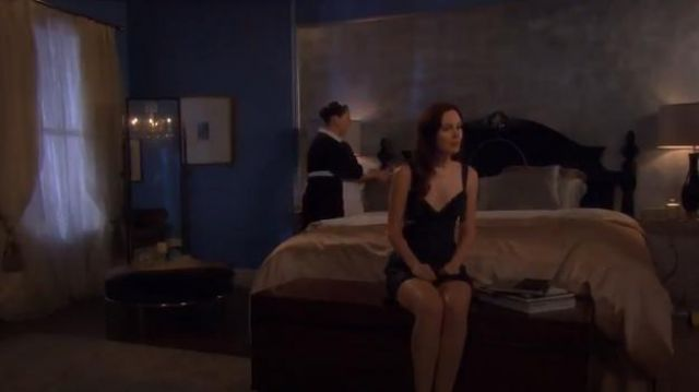 Fashion Trends 2021: Stella McCartney Clara Whispering Chemise outfit worn by Blair Waldorf (Leighton Meester) in Gossip Girl (S06E03)