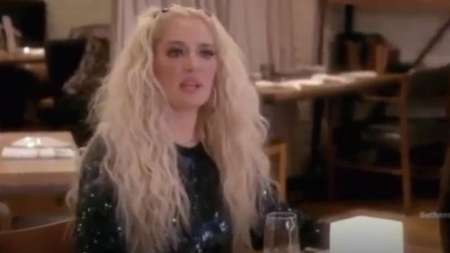 Fashion Trends 2021: Stella McCartney Sequin-Embellished Sweatshirt outfit seen on Herself (Erika Jayne) in The Real Housewives of Beverly Hills (S08E13)