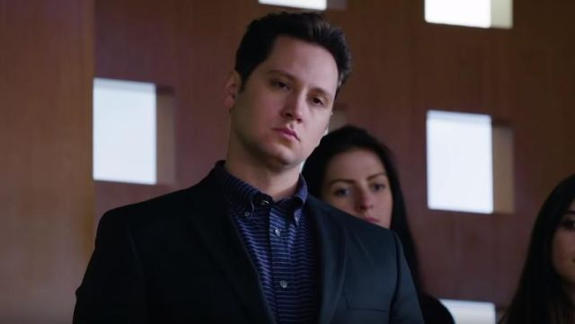 Striped shirt of Asher Millstone (Matt McGorry) seen in Murder Season 5 Episode 1 - TV Show Outfits and Products