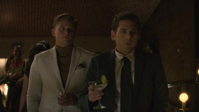 Suit jacket beige Jed Milgrim (Billy Magnussen) seen in Maniac Season 1 Episode 3 - TV Show Outfits and Products