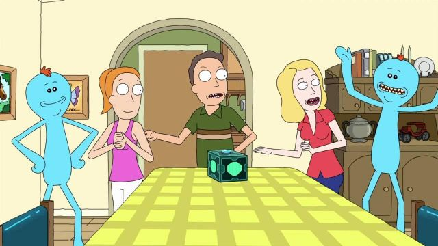 Suit of Mr. Meeseeks in Rick and Morty - TV Show Outfits and Products