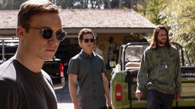 Sunglasses, Cutler & Gross, Joshua Cody (Finn Cole) seen in the Animal Kingdom Season 3 Episode 4 - TV Show Outfits and Products