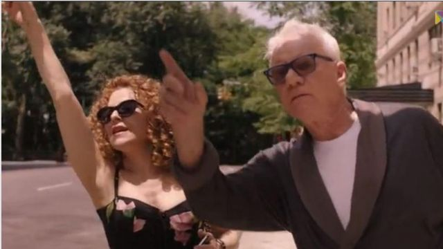Sunglasses Marc Jacobs Thomas Pembridge (Malcolm McDowell) seen in Mozart in the Jungle Season 4 Episode 8 - TV Show Outfits and Products