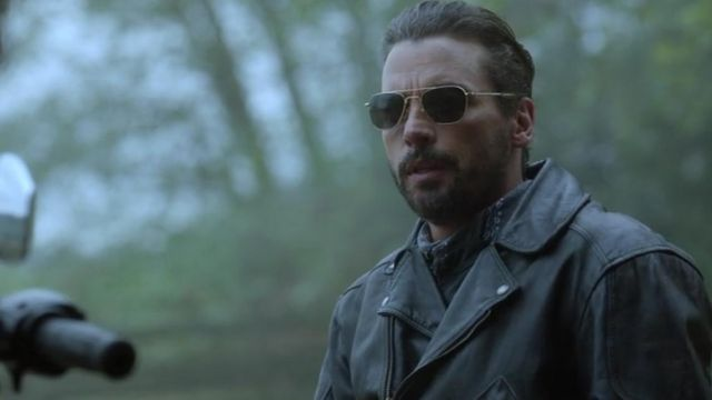 Sunglasses Original Pilot American Optical FP Jones (Skeet Ulrich) seen in Riverdale Season 2 Episode 8 - TV Show Outfits and Products