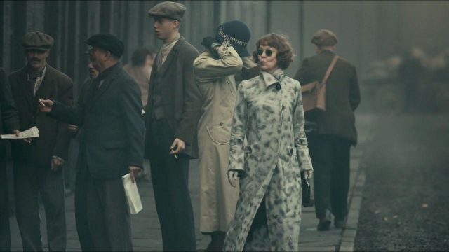 Sunglasses for Polly Gray, born Shelby (Helen McCrory) seen in Peaky Blinders Season 3 Episode 4 - TV Show Outfits and Products