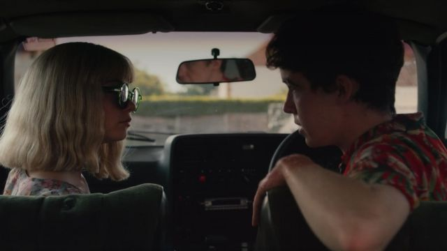 Fashion Trends 2021: Sunglasses from Alyssa (Jessica Barden) seen in The End of the F***ing World Season 1 Episode 6
