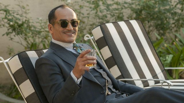 Sunglasses of Amahl Farouk (Navid Negahban) seen in Legion Season 2 Episode 2 - TV Show Outfits and Products