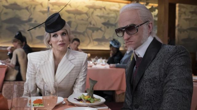 Sunglasses of Count Olaf (Neil Patrick Harris) seen in The Disastrous Adventures of the Orphans Baudelaire Season 2 Episode 3 - TV Show Outfits and Products