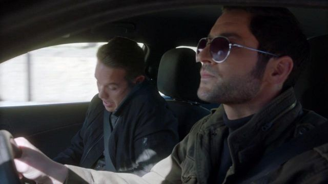 Sunglasses of Lucifer Morningstar (Tom Ellis) seen in Lucifer Season 3E22 - TV Show Outfits and Products