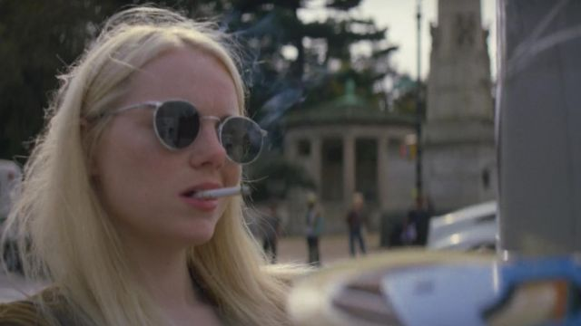 Sunglasses outfit worn by Annie Landsberg (Emma Stone) seen in Maniac Season 1 Episode 2 - TV Show Outfits and Products