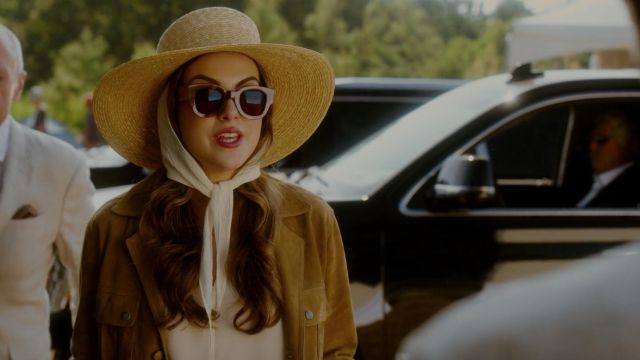 Sunglasses outfit worn by Fallon Carrington (Elizabeth Gillies) seen in Dynasty Season 2 Episode 4