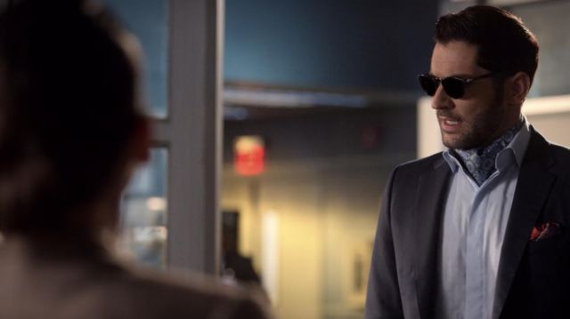 Sunglasses outfit worn by Lucifer Morningstar (Tom Ellis) as seen in Lucifer S04E09 - TV Show Outfits and Products