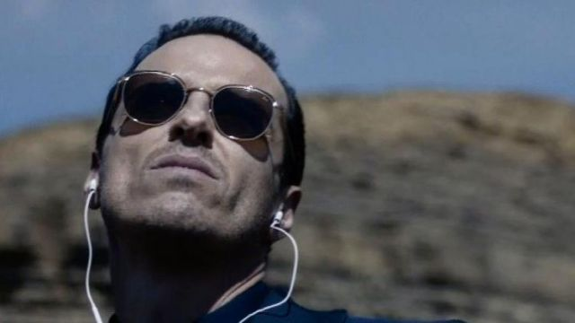 Sunglasses outfit worn by professor Moriarty (Andrew Scott) seen in Sherlock Season 4 Episode 3 - TV Show Outfits and Products