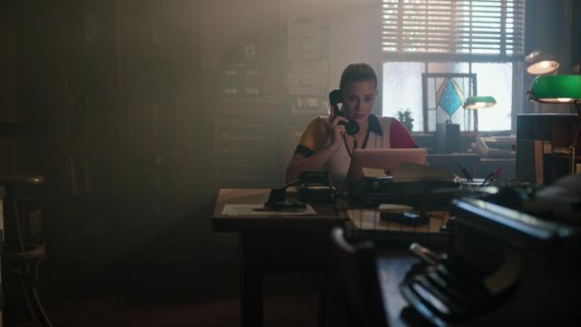T-shirt Project Social T outfit worn by Betty Cooper (Lili Reinhart) seen in Riverdale Season 3 Episode 2 - TV Show Outfits and Products