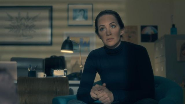 T-shirt Theodora Crain (Kate Siegel) seen in The Haunting of Hill House Season 1 Episode 3 - TV Show Outfits and Products