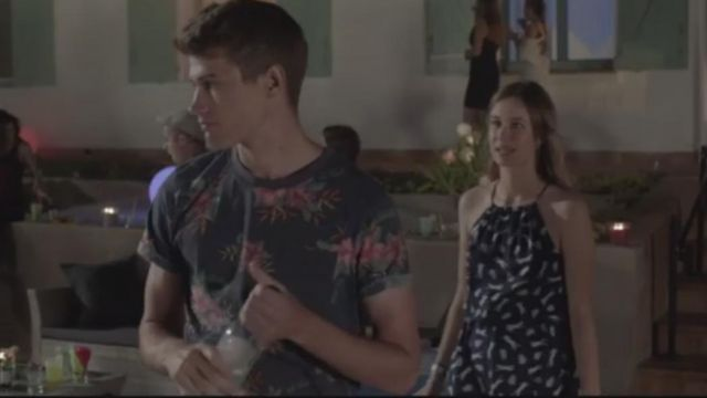 Fashion Trends 2021: T-shirt flowers of Lucas Moreau (Victor Meutelet) seen in The Innocent Season 1 Episode 2
