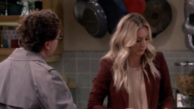 Tailor outfit worn by Penny (Kaley Cuoco) seen in The Big Bang Theory S12 Episode 7 - TV Show Outfits and Products