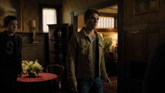 Tan Cordouroy Trucker Jacket outfit worn by Archie Andrews (KJ Apa) in Riverdale Season 4 Episode 1 - TV Show Outfits and Products