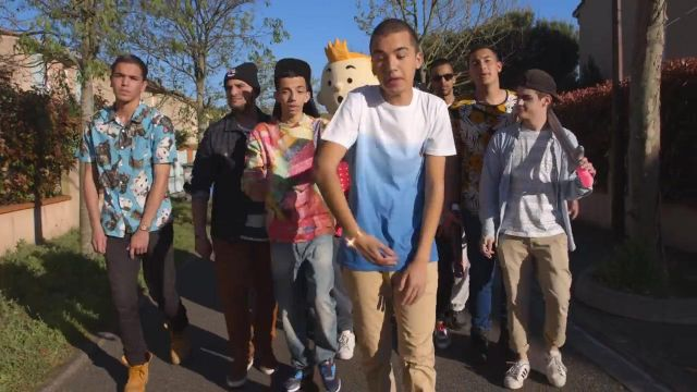 The Adidas in the clip Gangsta de Bigflo & Oli - Youtube Outfits and Products