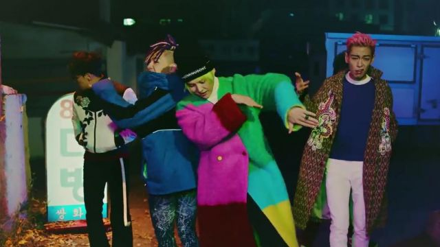 The Bonnet PEACEMINUSONE in the clip Fxxk it-BigBang - Youtube Outfits and Products