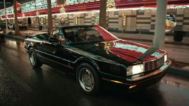 The Cadillac Allante 1993 in the clip, 24K Magic of Bruno Mars - Youtube Outfits and Products