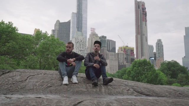 The Central Park of New York in the clip Then of Bigflo & Oli - Youtube Outfits and Products