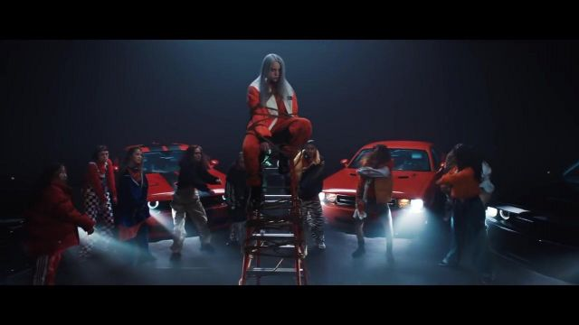 The Dodge Challenger, 2016 in the clip Watch of Billie Eilish - Youtube Outfits and Products