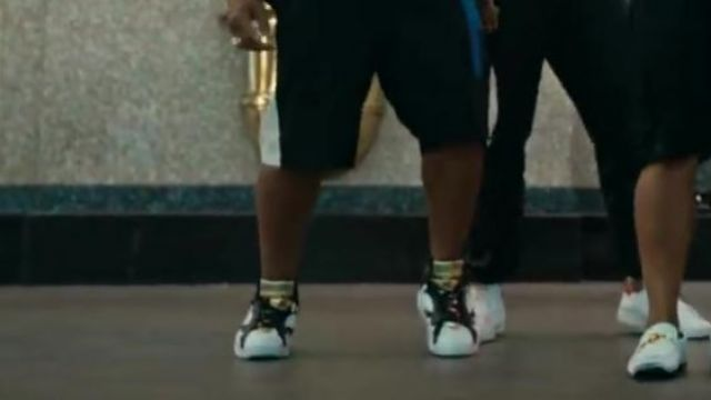 The Jordan in the clip, 24k Magic of Bruno Mars - Youtube Outfits and Products