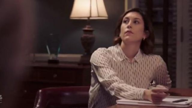 The Kooples White 'Fantasy' Silk Shirt outfit worn by Sydney Strait (Caitlin McGee) in Bluff City Law Season 1 Episode 2 - TV Show Outfits and Products