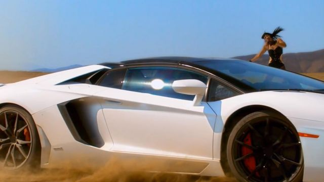 The Lamborghini Aventador LP 700-4 Roadster in the clip Work Bitch Britney Spears - Youtube Outfits and Products