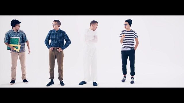 The New Balance in the clip We also Bigflo & Oli - Youtube Outfits and Products