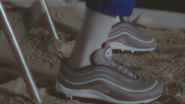 The Nike Air Max 97 grey Zayn Malik in the clip Beyoncé & ZAYN - Me, myself and I (Remix) - Youtube Outfits and Products