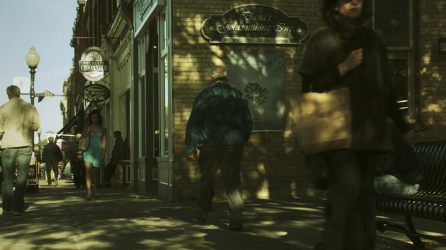 The Nutty Chocolatier Candy Shop as seen in Hemlock Grove (S01E01) - TV Show Outfits and Products