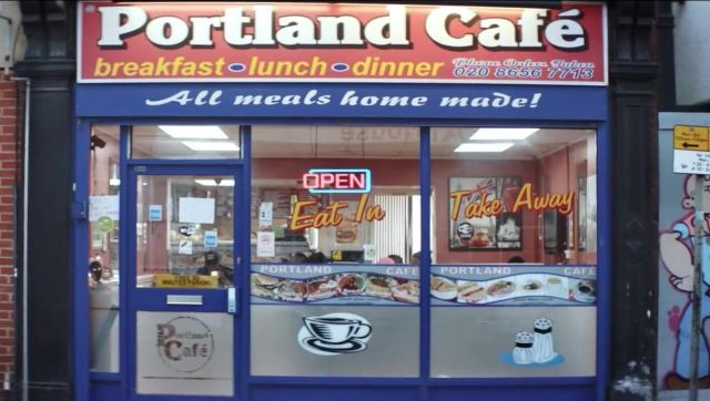The Portland Cafe in London, in the clip the Man don t dance Big Shaq - Youtube Outfits and Products